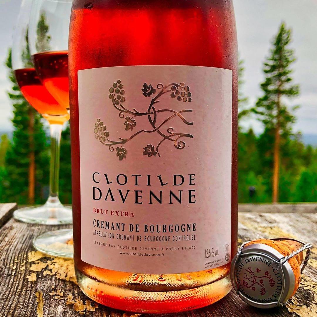 Clotilde Davenne Crémant de Bourgogne Rosé