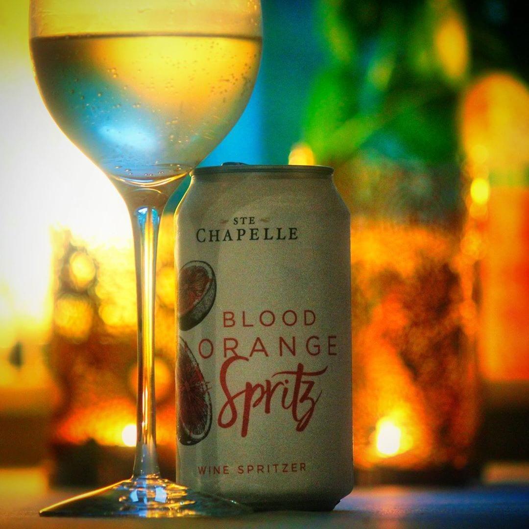 Ste. Chapelle Blood Orange Spritz