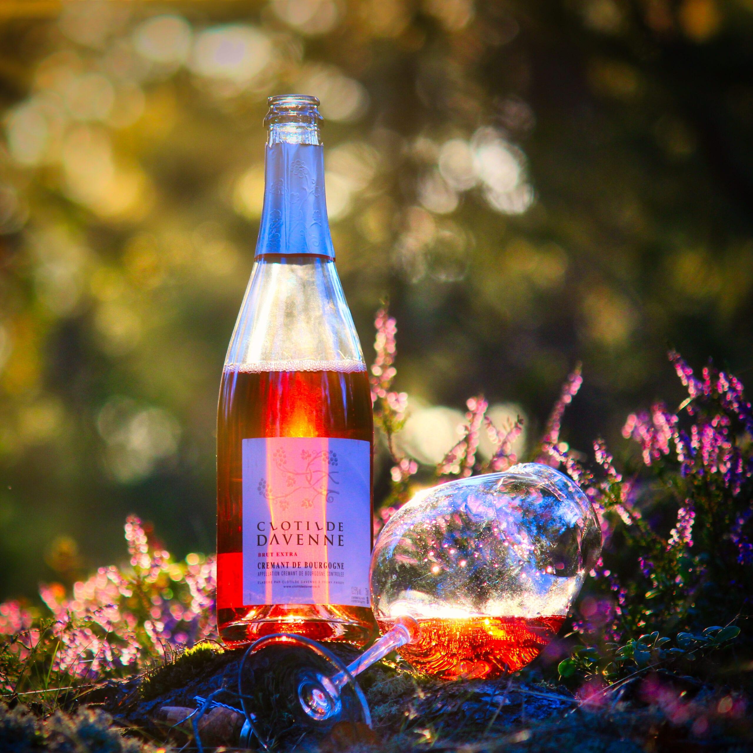 Clotilde Davenne Crémant de Bourgogne Rosé (provad 2020)