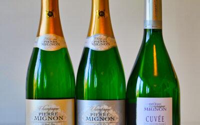 Champagneprovning Pierre Mignon