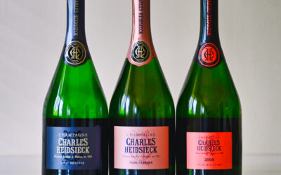 Champagneprovning Charles Heidsieck